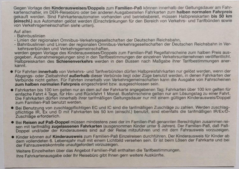 Originaldrucke der Deutschen Reichsbahn (DDR)